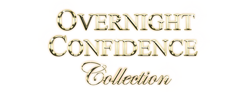 Overnight Confidence collection in Gold on Black