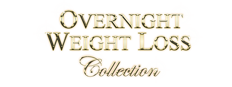 Overnight Weight Loss Collection in Gold on Black